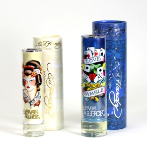 Ed Hardy Love & Luck for Women (left) and for Men (right)